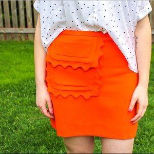 Victoria Beckham for Target Orange Skirt